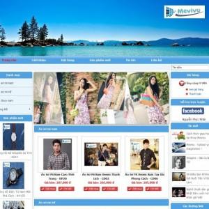 Website bán hàng trực tuyến đẹp, chất lượng, bắt mắt