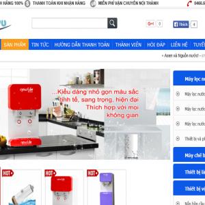 Website bán hàng trực tuyến đẹp – Gia Dụng Việt – NukeViet
