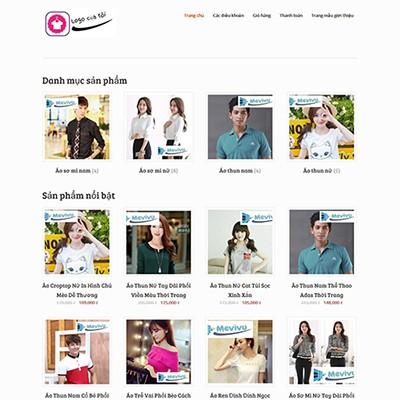 Website bán hàng đơn giản nhưng chuyên nghiệp