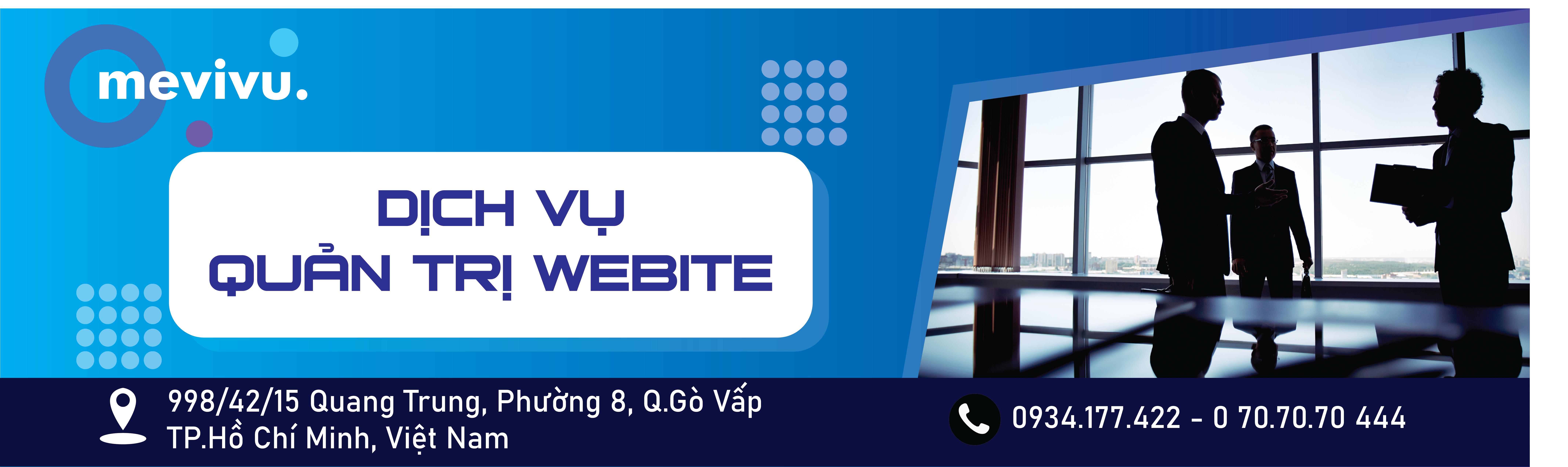 banner dịch vụ quản trị website