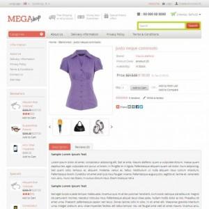 Website bán hàng online MegaShop