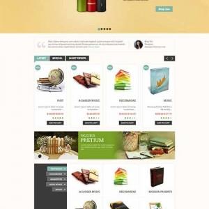 Website bán hàng online PavBooks cực đẹp và ấn tượng