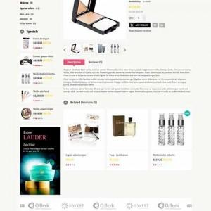 Website bán hàng bắt mắt PavCosmetics