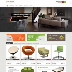 Website bán hàng online PavDecor cực đẹp