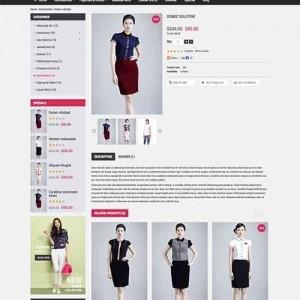 Website bán hàng trực tuyến PavDressStore duyên dáng