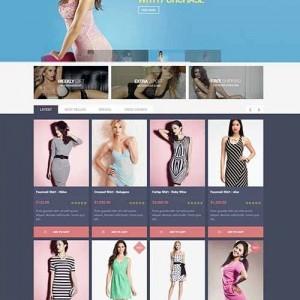 Web bán hàng PavNewTrend sặc sở và thu hút