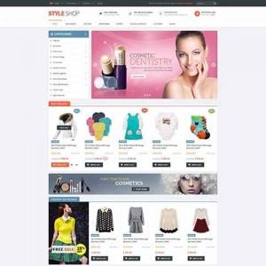 Web bán hàng cực kỳ sinh động PavStyleShop