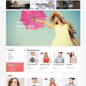 Web bán hàng giao diện quý phái PavSummerShop