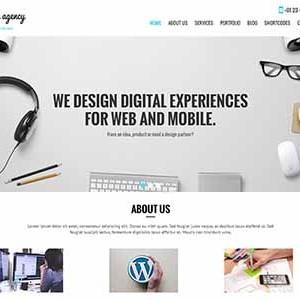 Website mẫu SKT Design Agency
