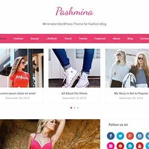 Website mẫu Pashmina