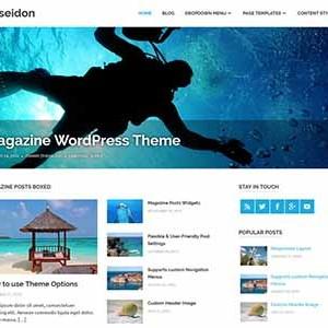 Website mẫu Poseidon