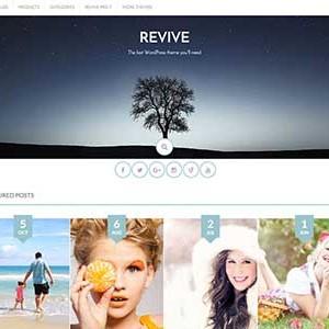 Website mẫu Revive
