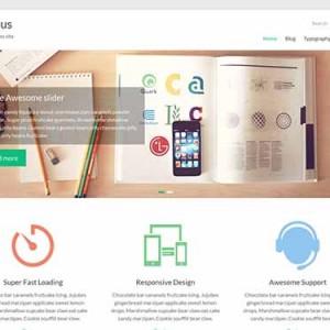 Website mẫu Spacious