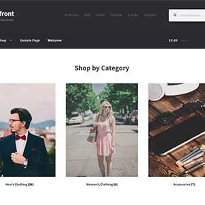 Website mẫu Storefront