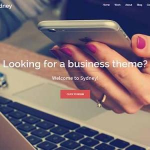 Website mẫu Sydney