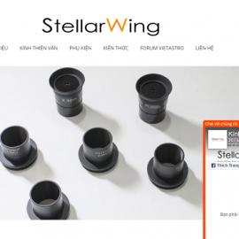 Website StellarWing chuyên bán kính thiên văn