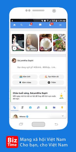 Thiết Kế App BizTime