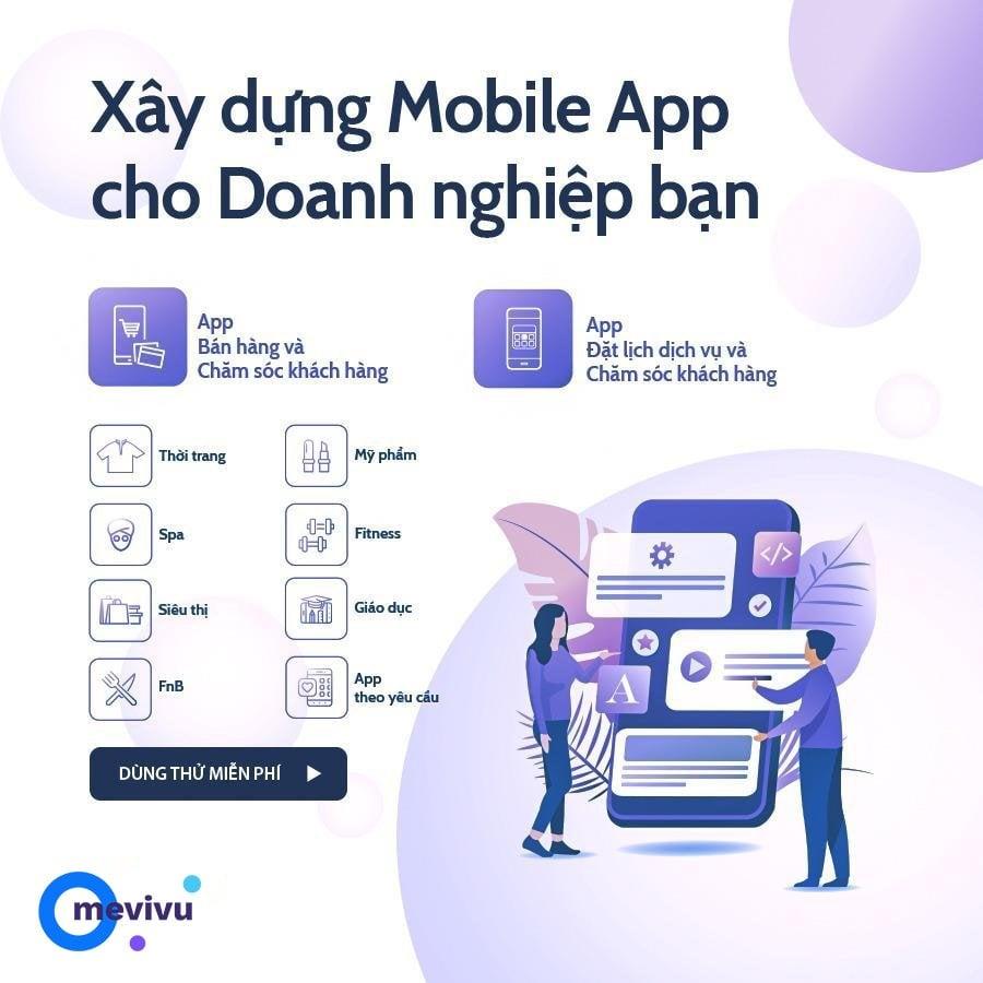 chăm sóc khách hàng bằng thiết kế app loyalty