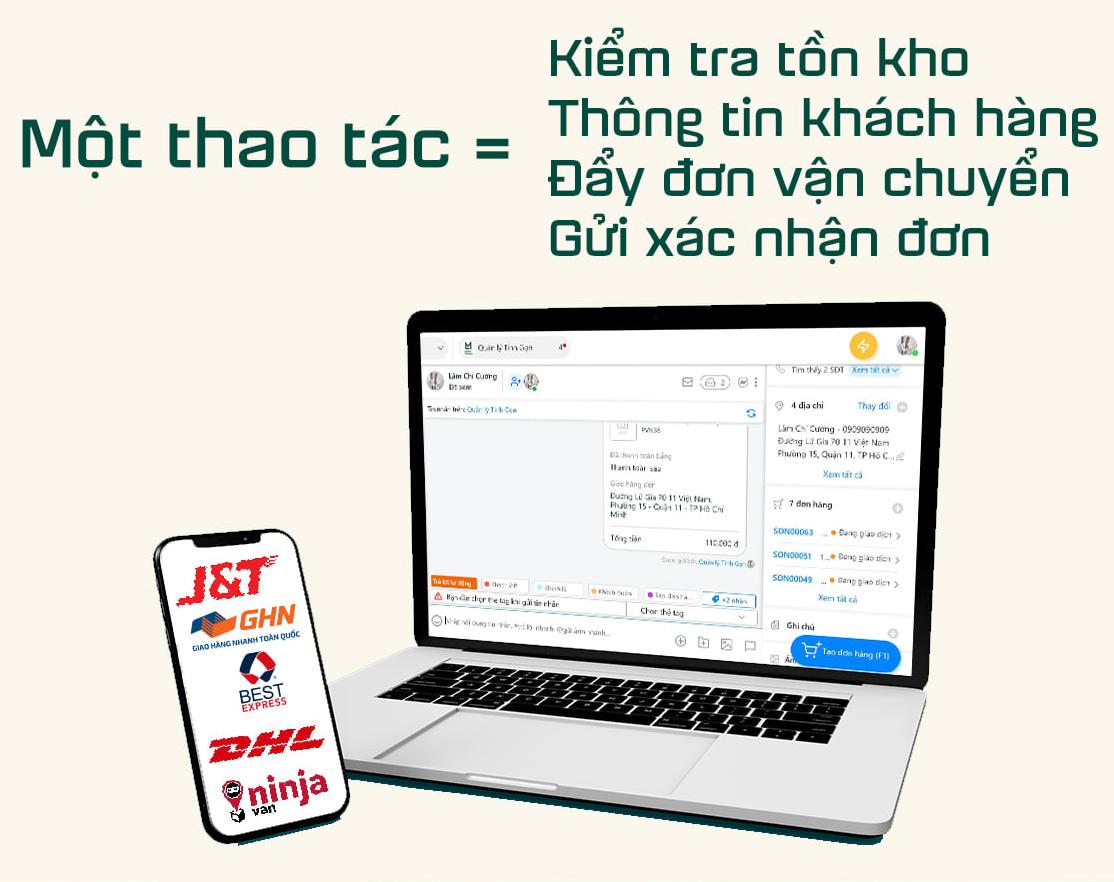 thiết kế app quản lý bán hàng