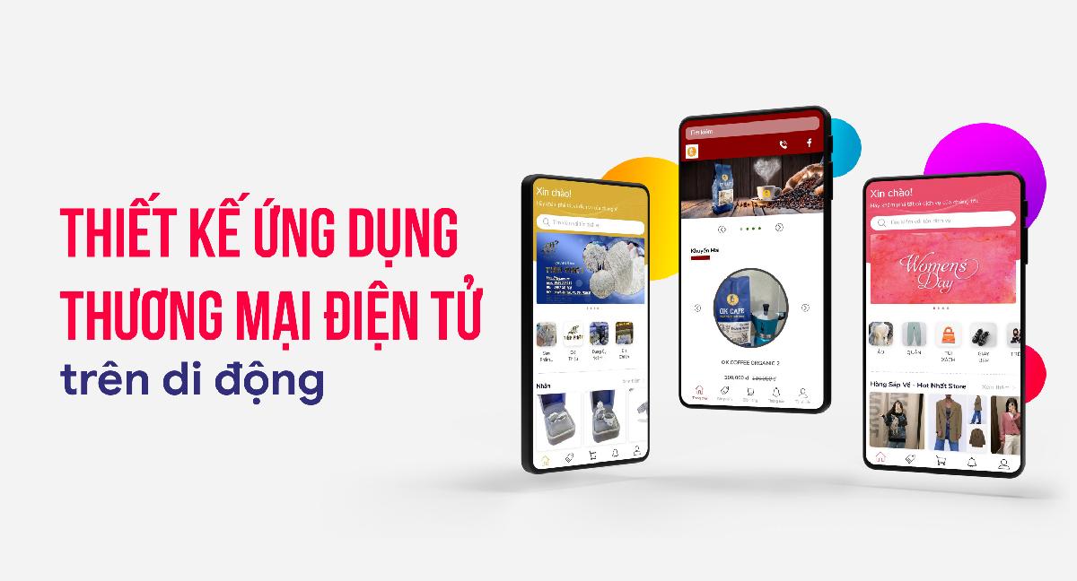 ứng dụng app thương mại điện tử