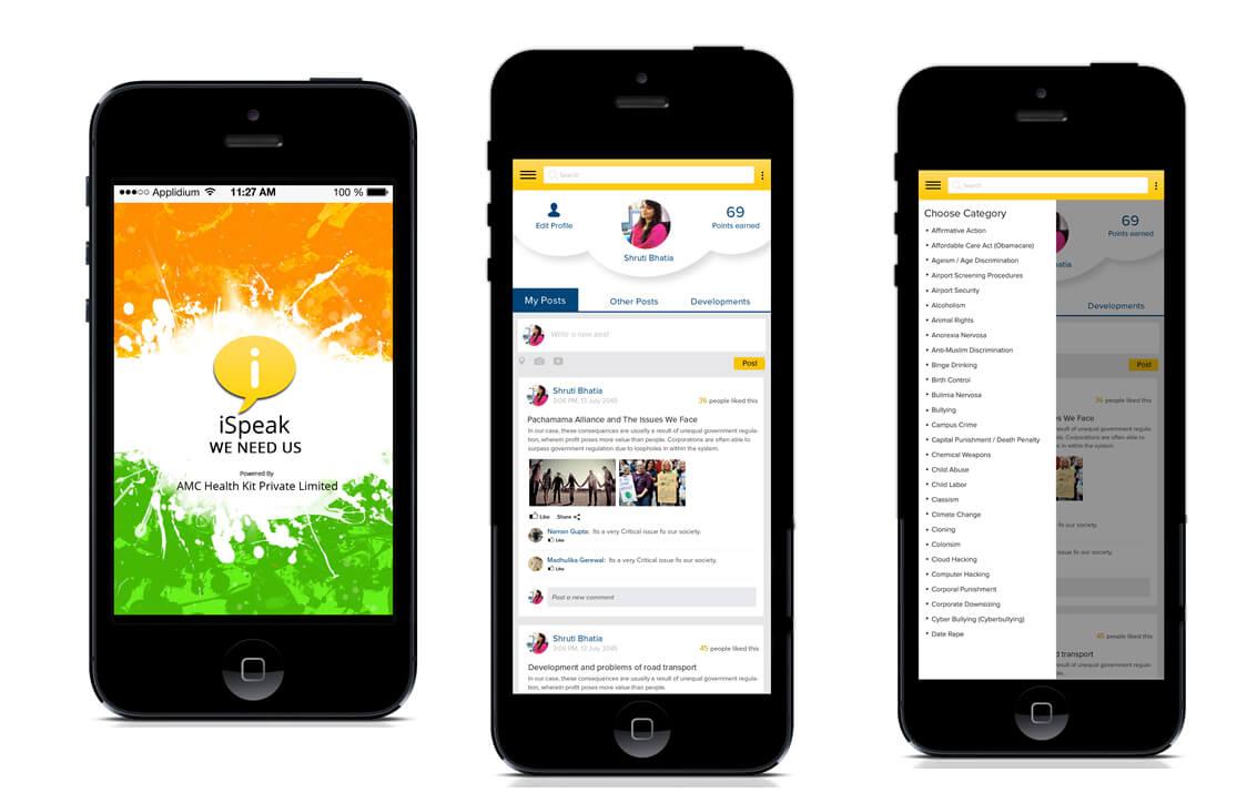 thiết kế app forum tin tức ebook