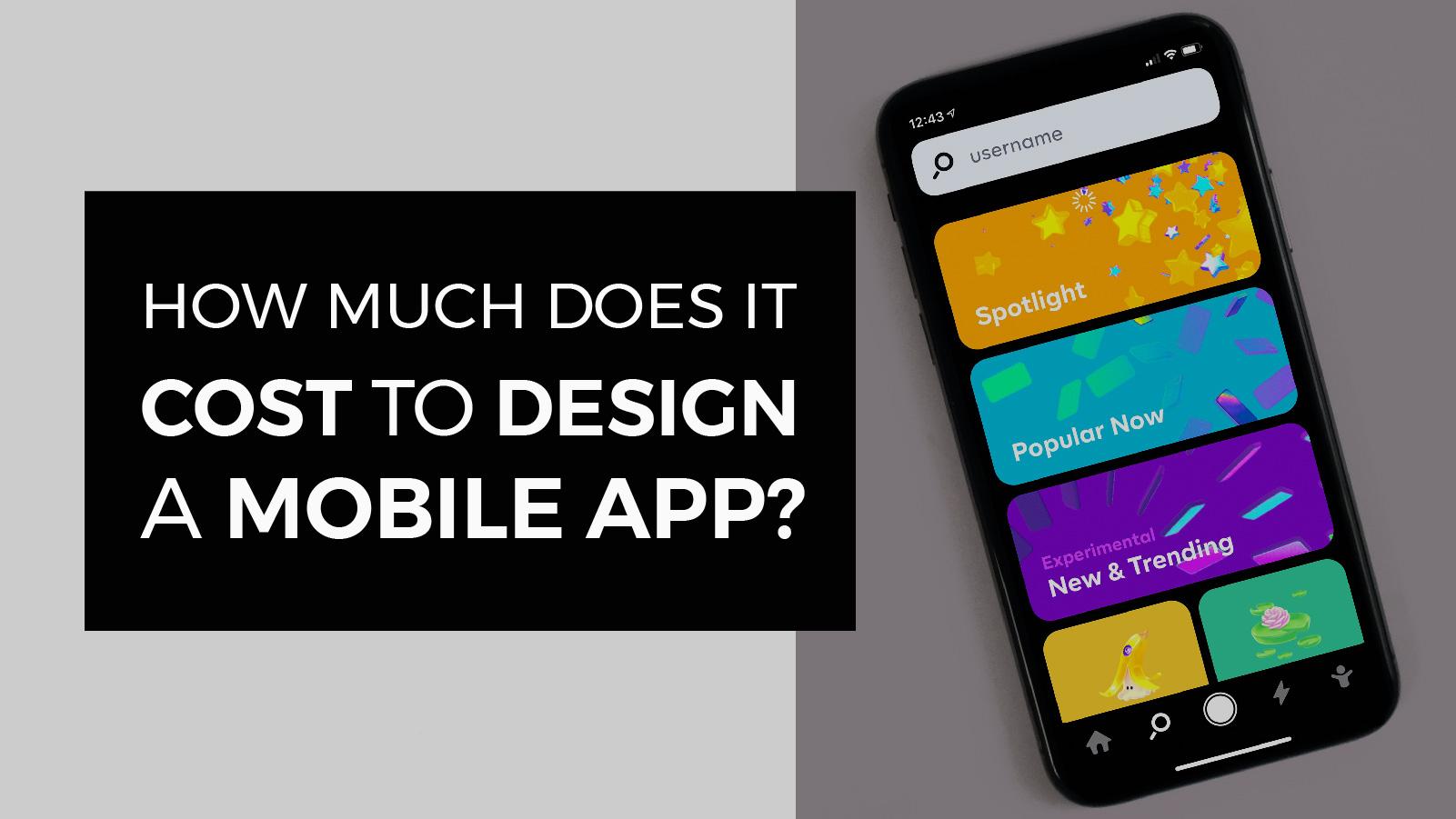 chi phí thiết kế app