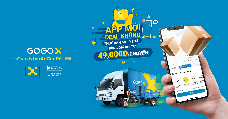 ứng dụng app giao hàng vận tải