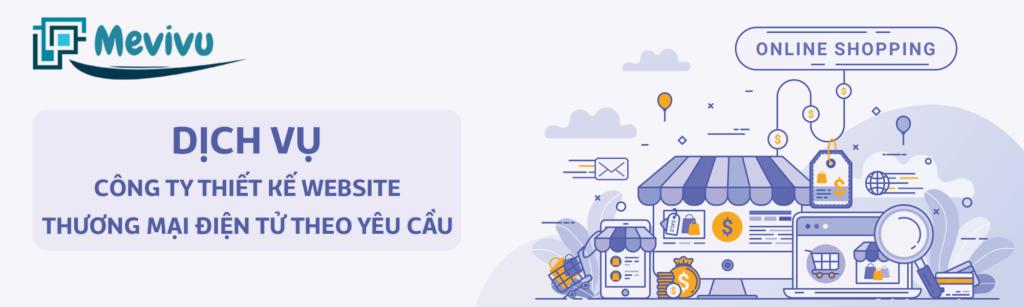 thiết kế web thương mại điện tử