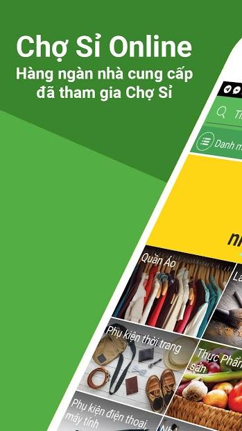app bán hàng