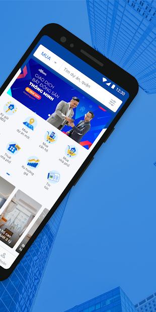 thiết kế app bất động sản