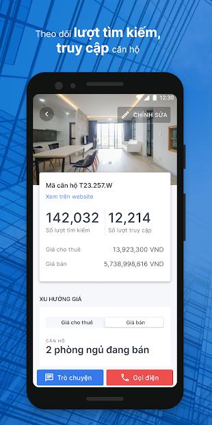 thiết kế app bất động sản theo yêu cầu