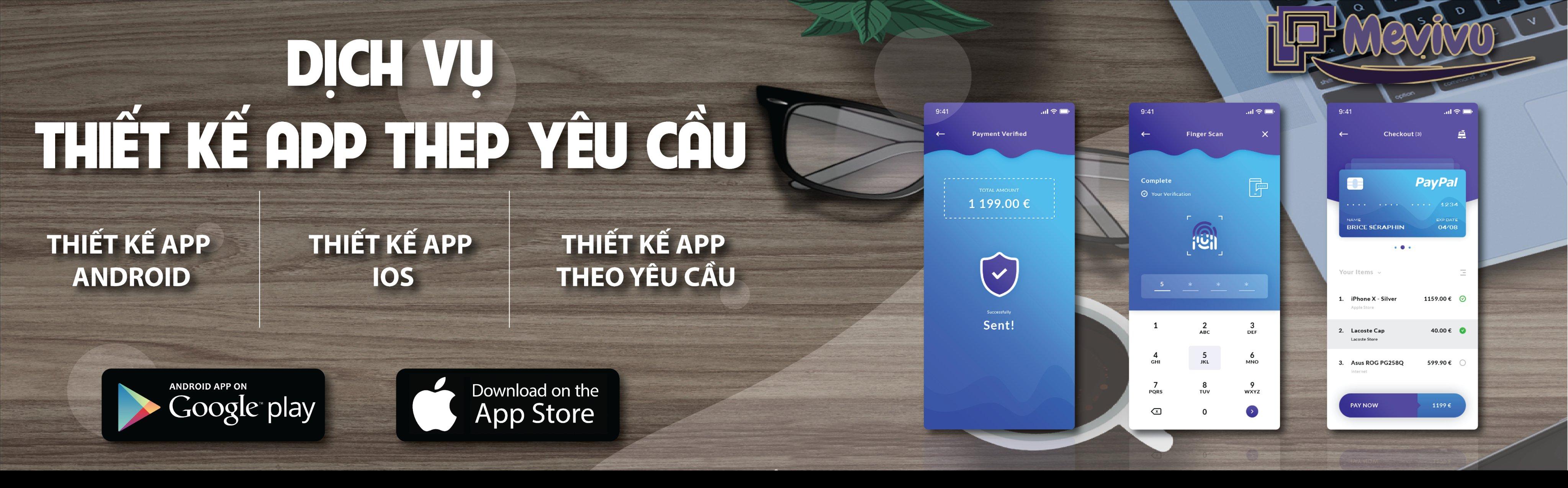 app thương mại điện tử