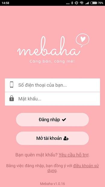 app bán hàng online