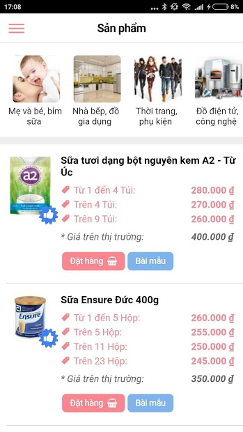 app bán hàng mebaha